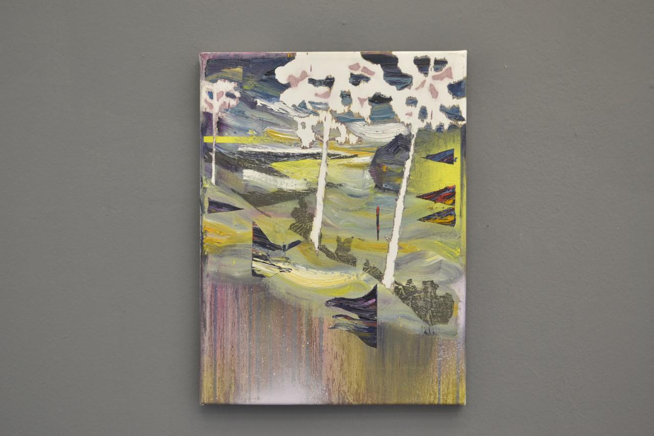 Gefaelle | oil on canvas | 30 x 40 cm | 2015