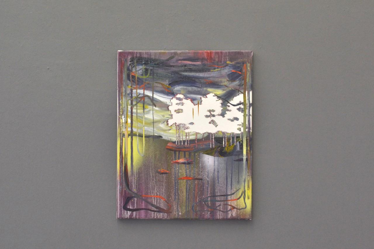 Gestade | oil on canvas | 40 x 50 cm | 2015