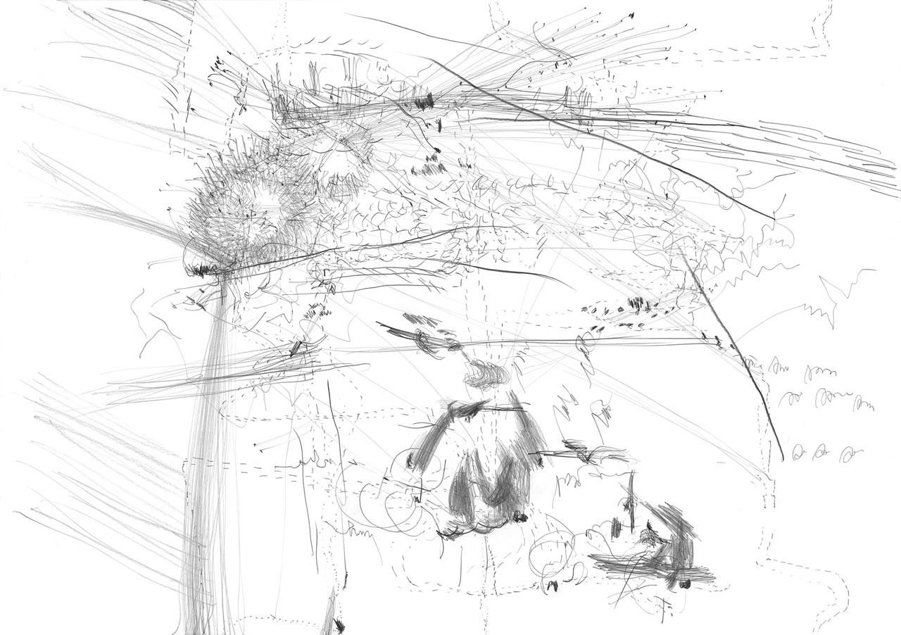 Transição 13 | (Series of 26 drawings) | Drawing on paper | 72 x 102 cm | 2006 | Photo: © Katrin von Lehmann