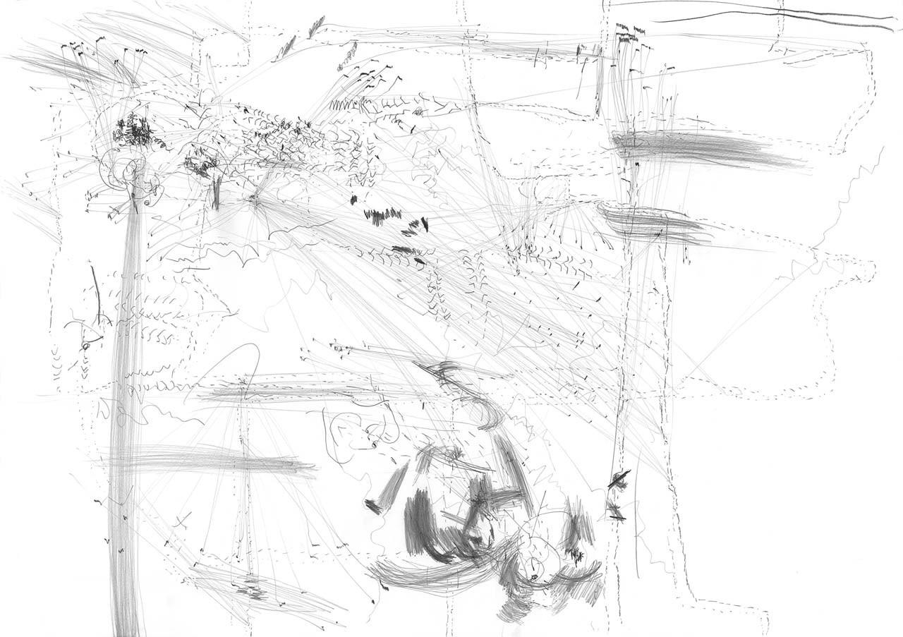 Transição 14 | (Series of 26 drawings) | Drawing on paper | 72 x 102 cm | 2006 | Photo: © Katrin von Lehmann