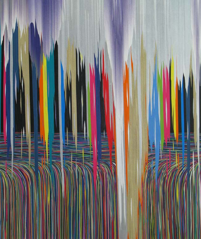 Colours conquer the earth: iiihh | 120 x 100 cm | 2014