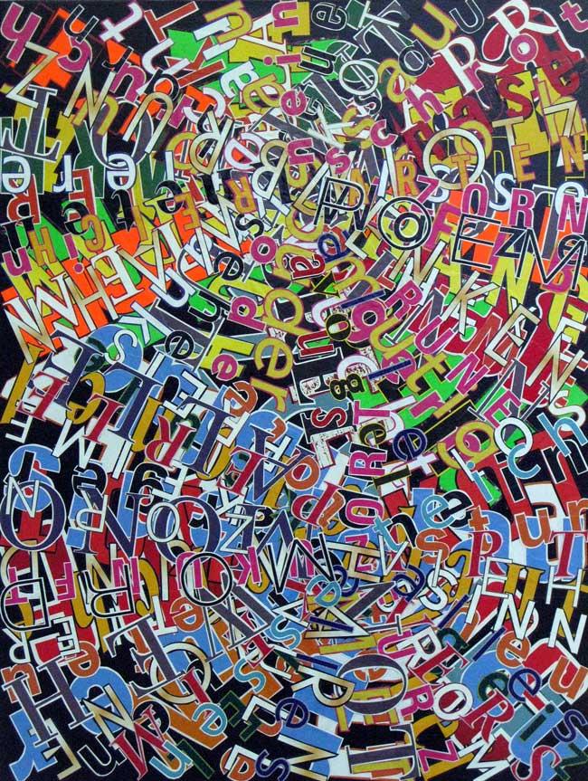 Quadratur des Kreises (TRABSAKT) | 65 X 65 cm | 2013