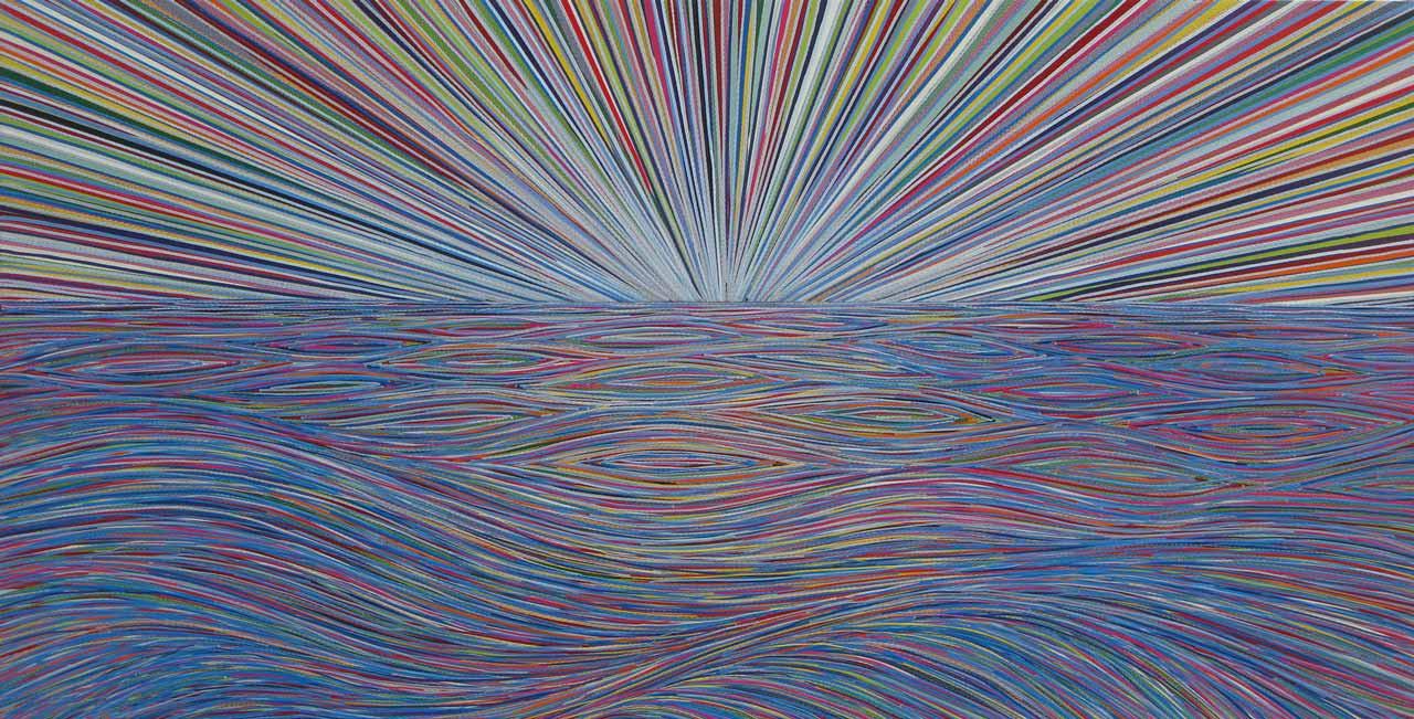 Sometimes something´s everything | ca 55 x 101 cm | 2014