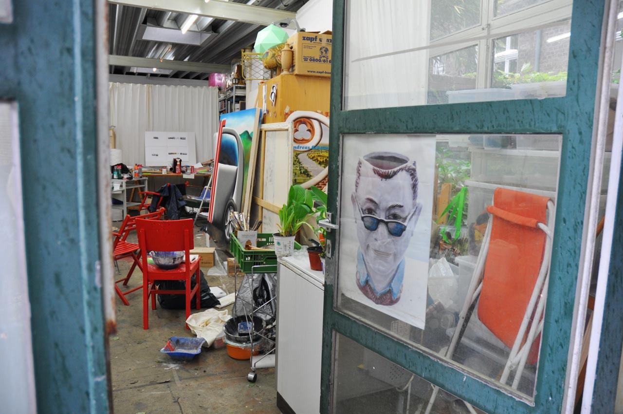 Visit to Andreas Schulze's Cologne Studio