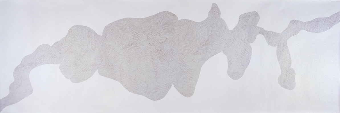 Normally we meet twice No.2 | pencil on paper | 158 x 530 cm | 2006