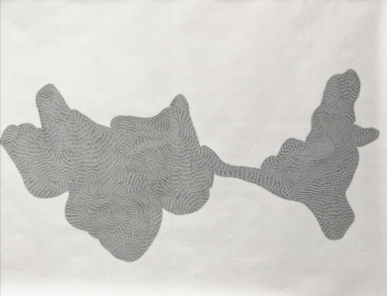 Normally we meet twice No.4 Detail | pencil on paper | 158 x 320 cm | 2007