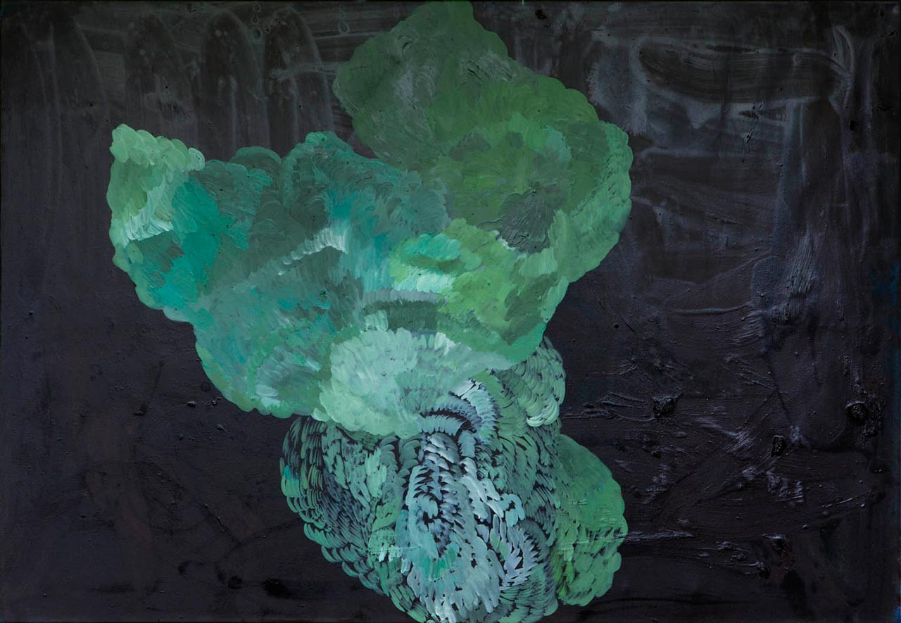 Scottish green No.3 | oil on canvas | 100 x 143 cm | 4/2014