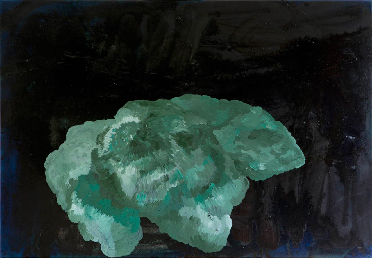 Scottish green No.2 | oil on canvas | 100 x 143 cm | 4/2014