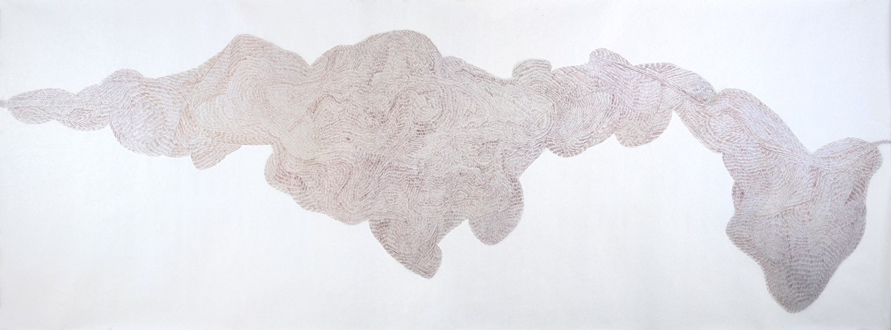 Normally we meet twice No.1 Detail | pencil on paper | 158 x 420 cm | 2006