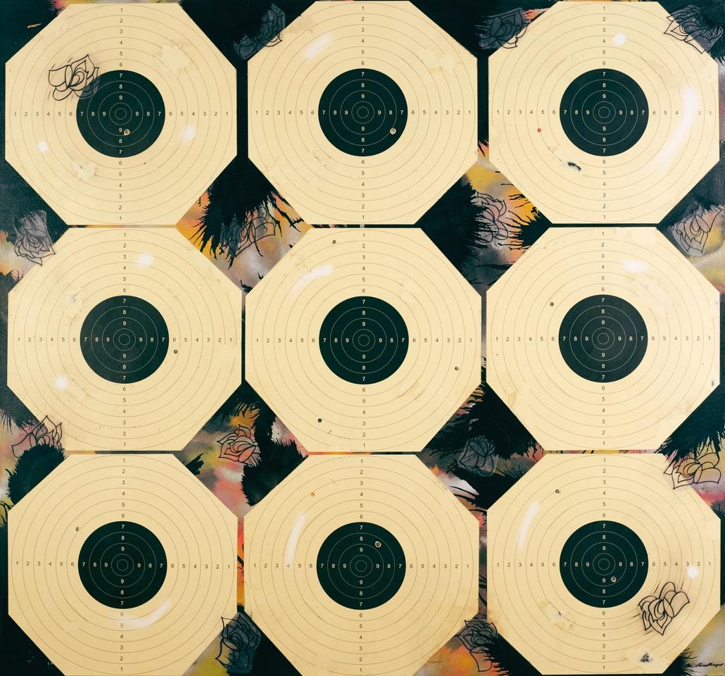 SNAFU 2, 2015, mixed media on canvas, 155 X 165 cm.