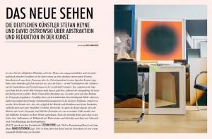 DAS NEUE SEHEN – A Conversation between David Ostrowski and Stefan Heyne in QVEST Issue  67 Summer 2015 Image