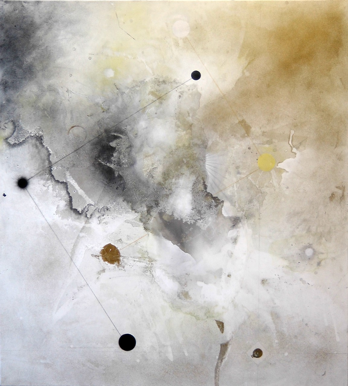 Prima Materia, mixed media on canvas, 170x150 cm, 2015