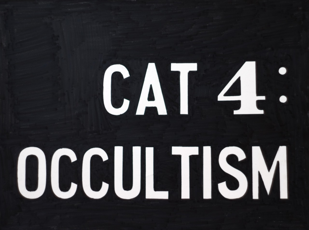 Cat. Occultismus