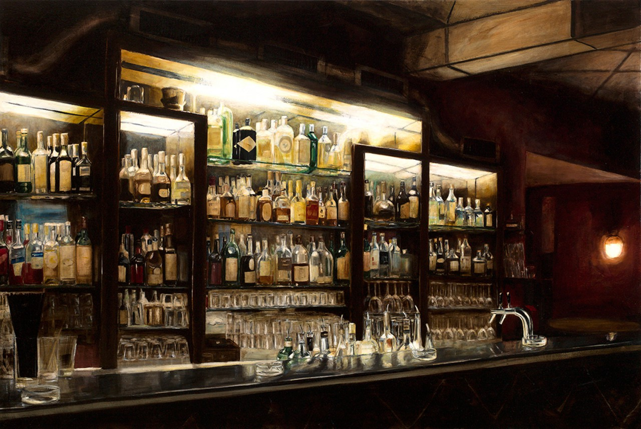 würgeengel, 2013, öl/leinwand, 120 x 180 cm