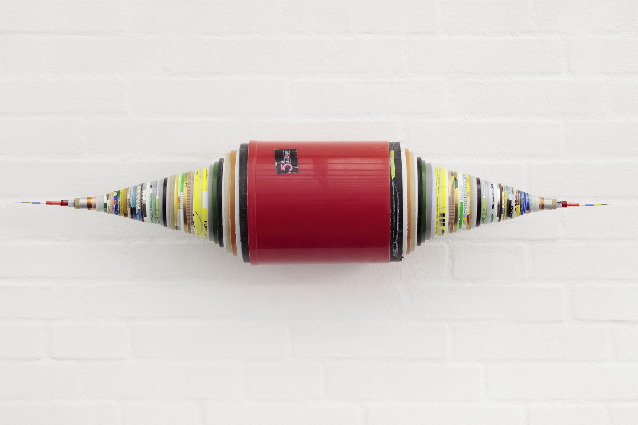 more than 70 hollow cylinders with some kind of reference to each other / artist edition / 2015