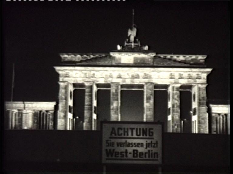 """""""Achtung, Sie verlassen jetzt West-Berlin"""""""