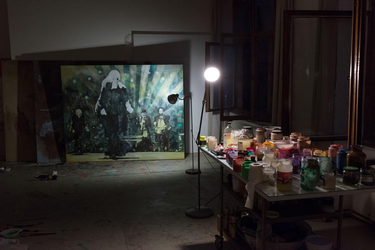Miriam Vlaming Studio 2014II Photo: © Giorgio Morra