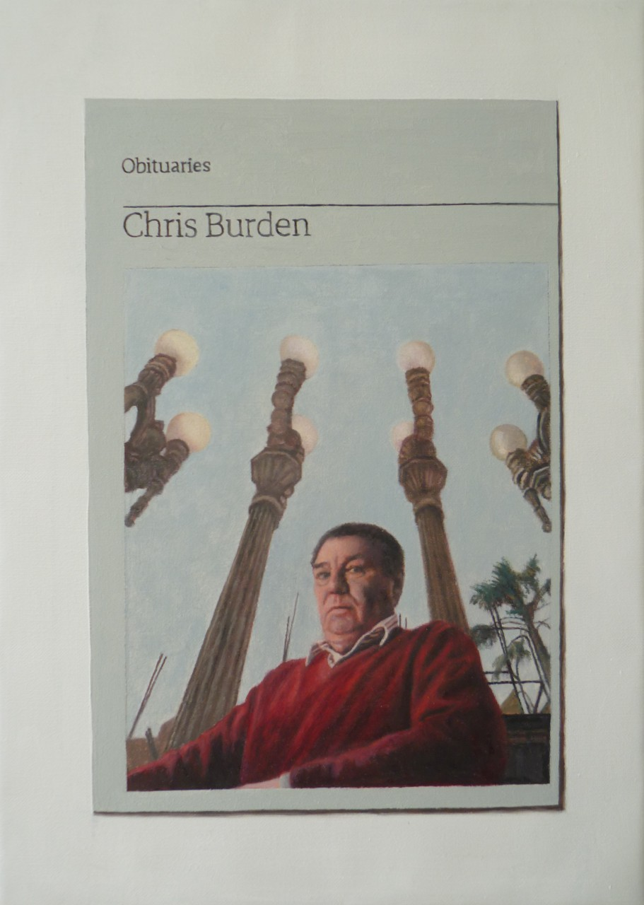 Obituary: Chris Burden