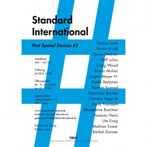 Standard International: Post Spatial Devices II Image