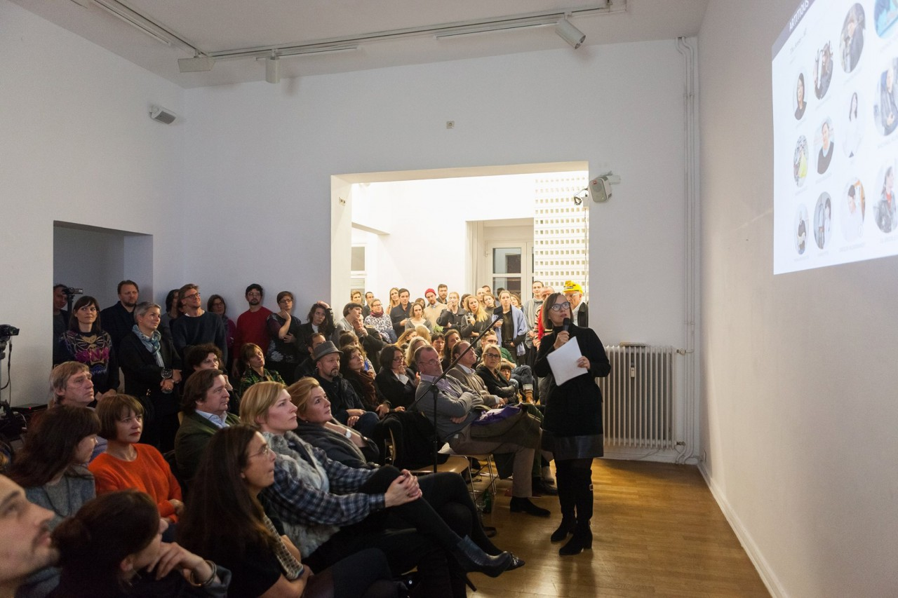 Big success: Our founder´s speach at Berlin´s first Pecha Kucha Art Night