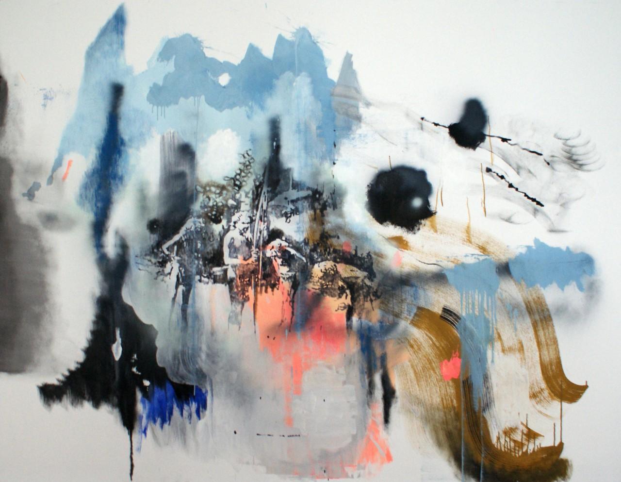 """INNATURA"", Eggtempera on canvas, Miriam Vlaming, 2015 II Photo:© Miriam Vlaming"