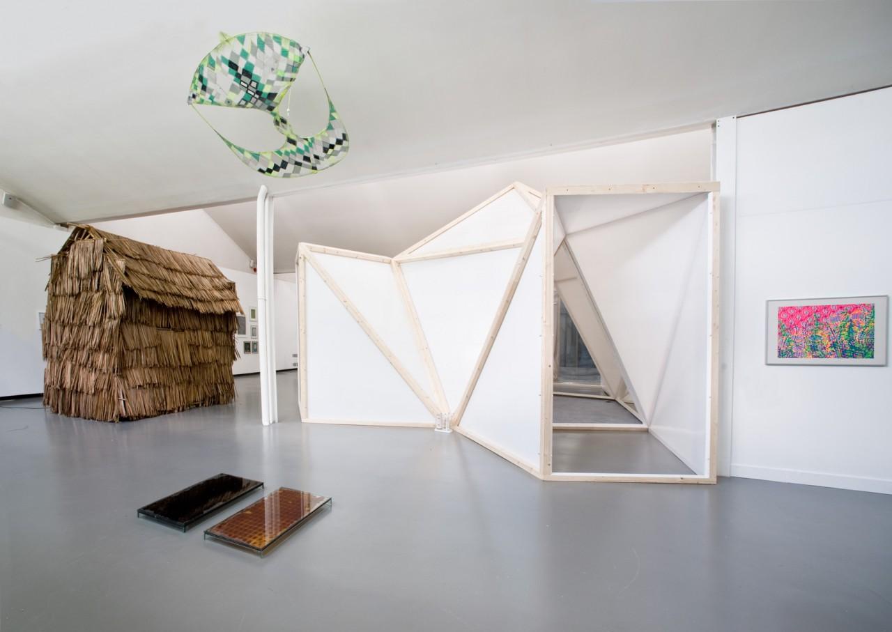 Ausstellungsansicht II, Sirenenheime, Kunsthalle Göppingen
