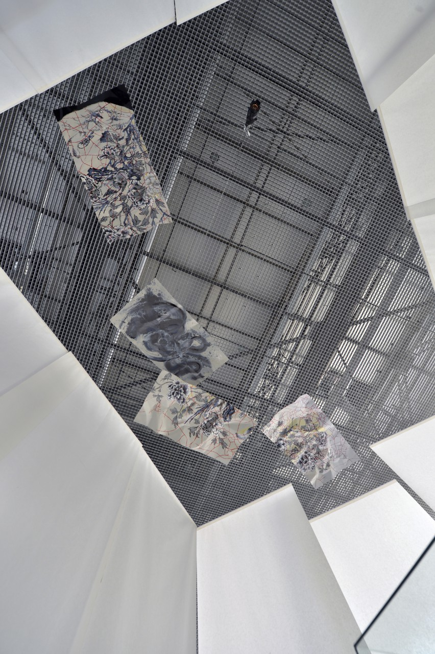 Nature morte / installation view, Hangar Detmold