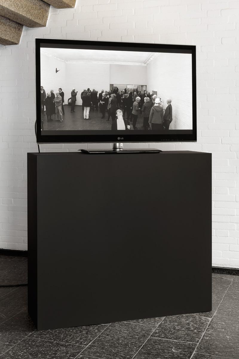 ›Sblendid‹ 2015 / monitor / Installationsansicht Kunsthalle Bremerhaven
