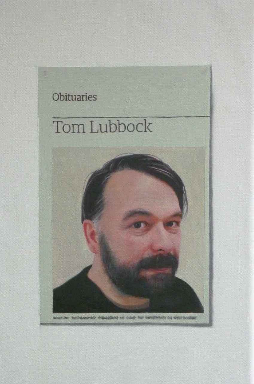 Obituary: Tom Lubbock