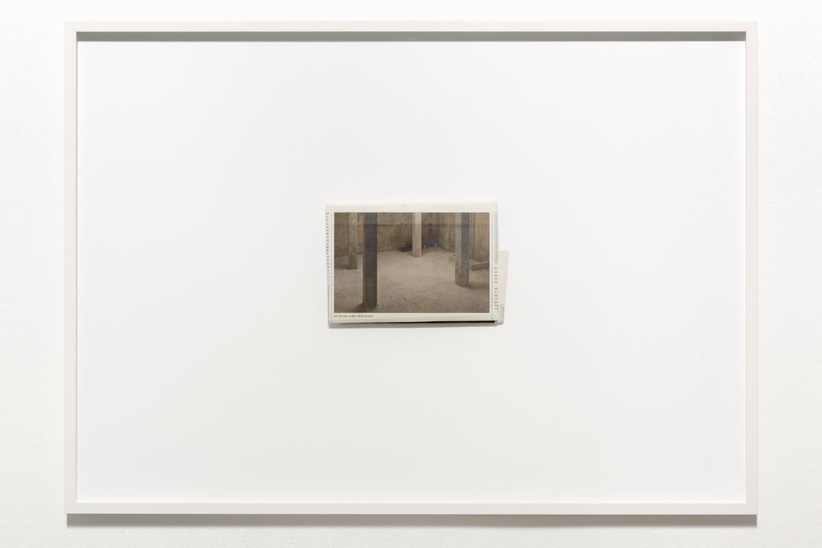›Eine Seite / Weisse Halle‹ 2011
