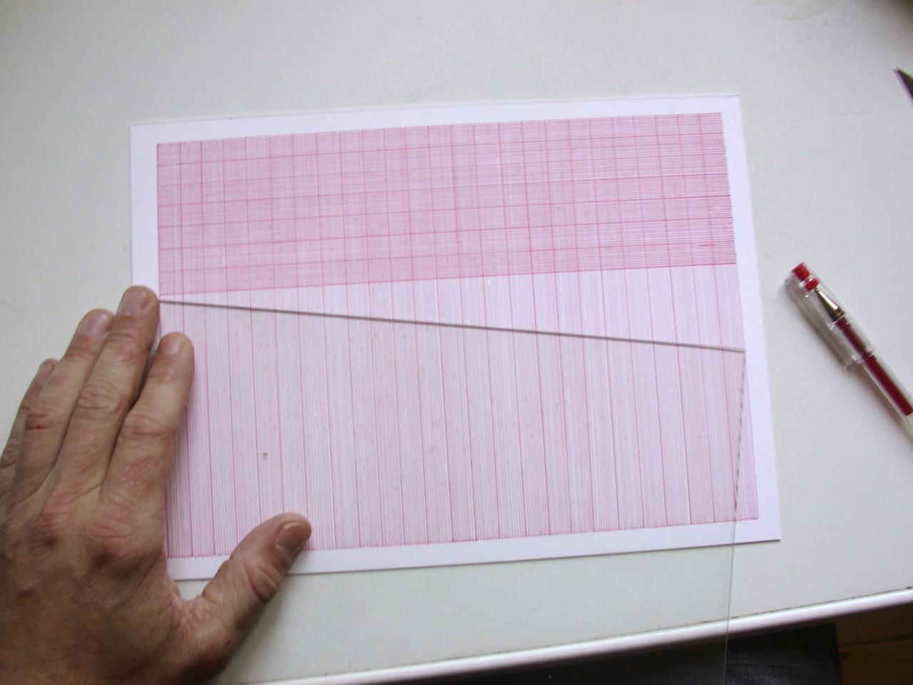 ›Millimeterpapiere‹ Handzeichnungen seit 2005