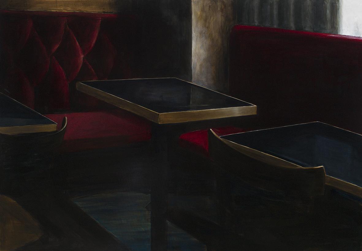 würgeengel, 2015, öl/leinwand, 110 x 160 cm