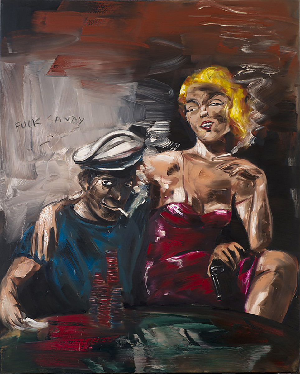 Fuck Sandy | 2013 | 250 x 200cm | Oil on linen | Private Collection