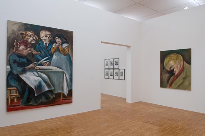 Gregory Forstner Solo Show | Musée de Grenoble | 2009