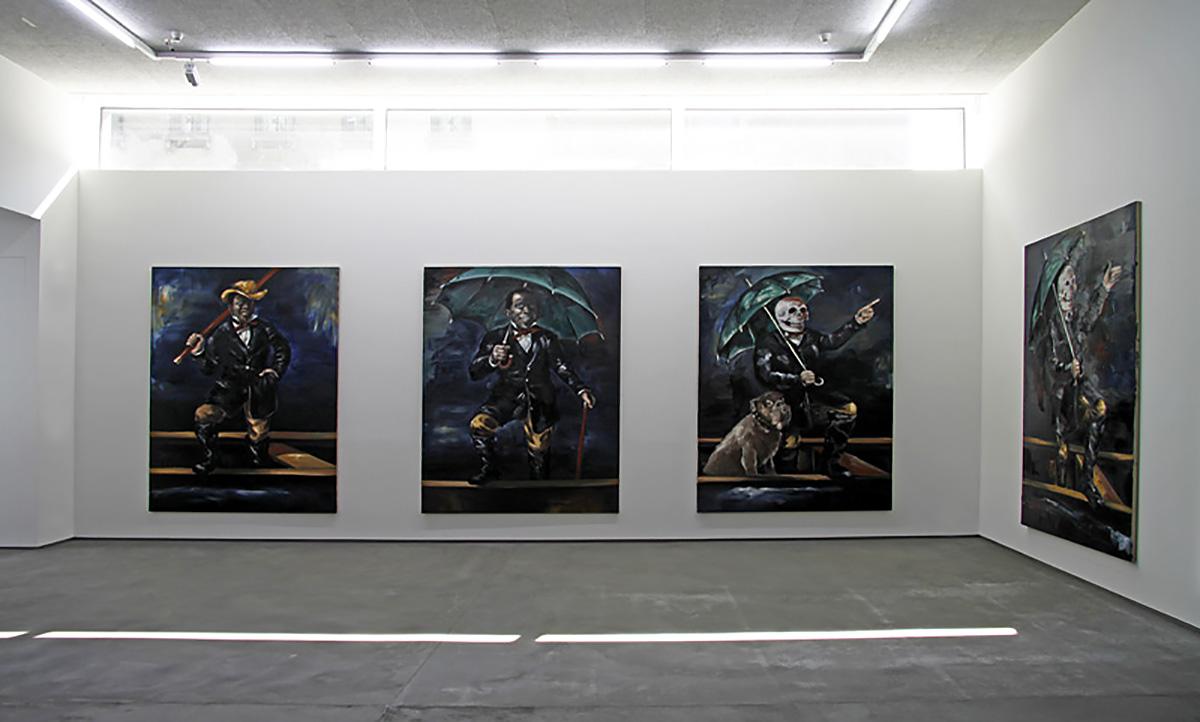 Exhibition Rain Dogs | Galerie Kromus+Zink | Berlin | 2011