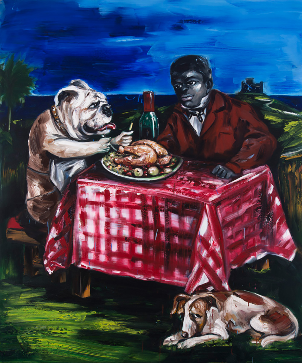 Thanksgiving | 2015 | 195 x 162cm | Oil on linen | Private Collection