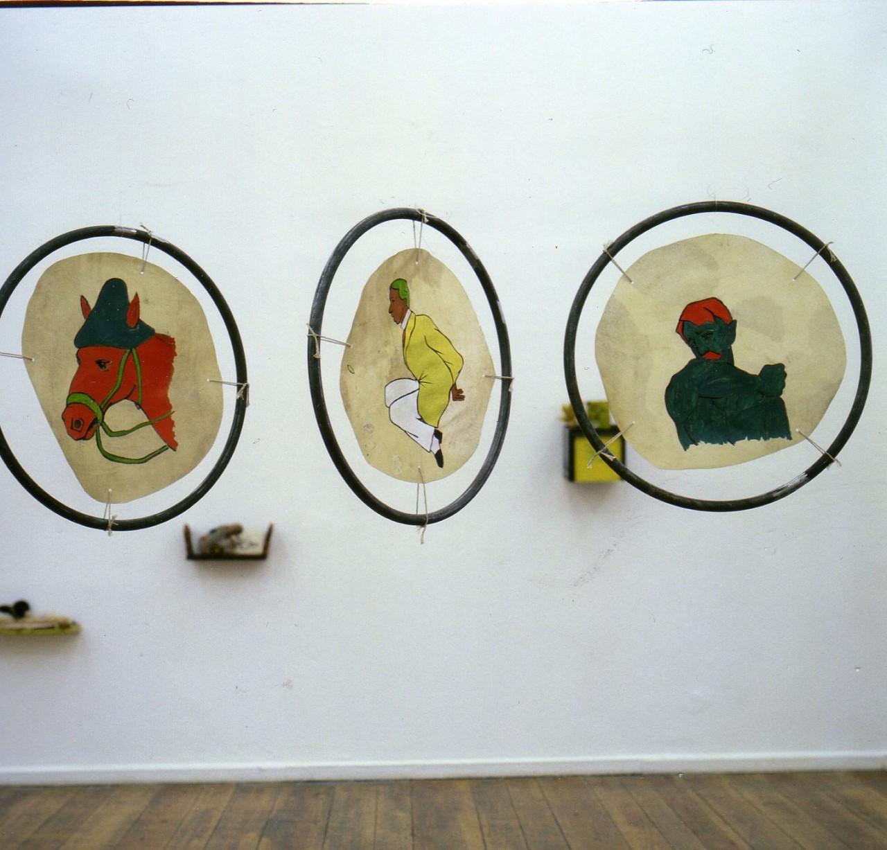 Voronzov/ Stipendium in Künstlerhaus Bethanien 1992-1993