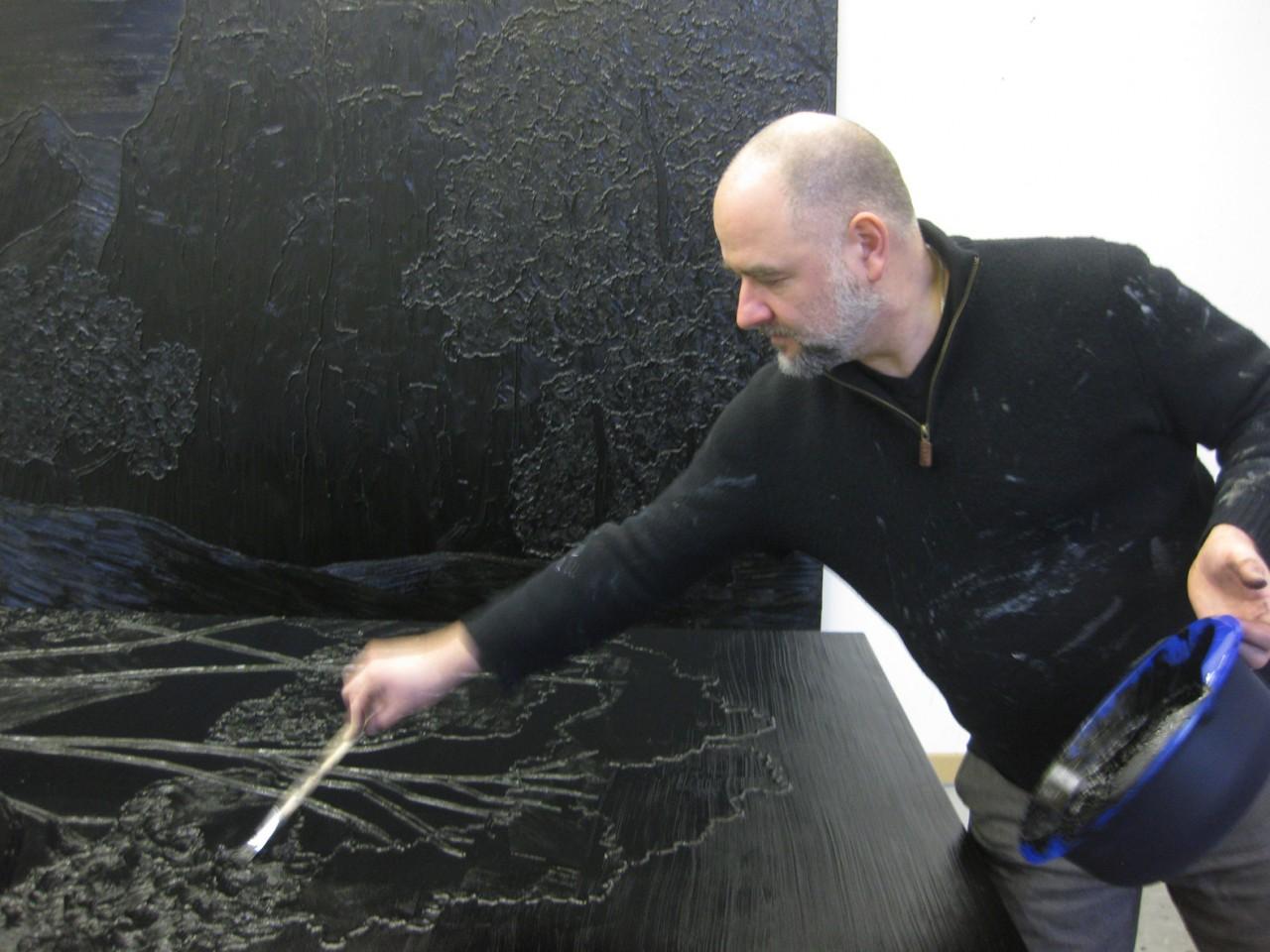 Sven Drühl Radiotalk at WDR 3 Mosaik