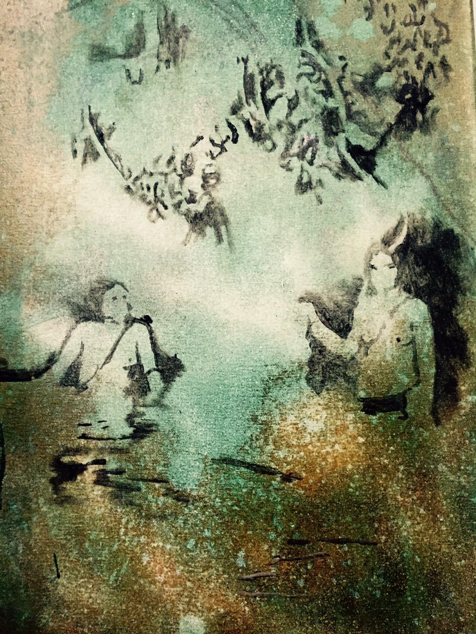 GOLDFISCH UNTERM WASSER image