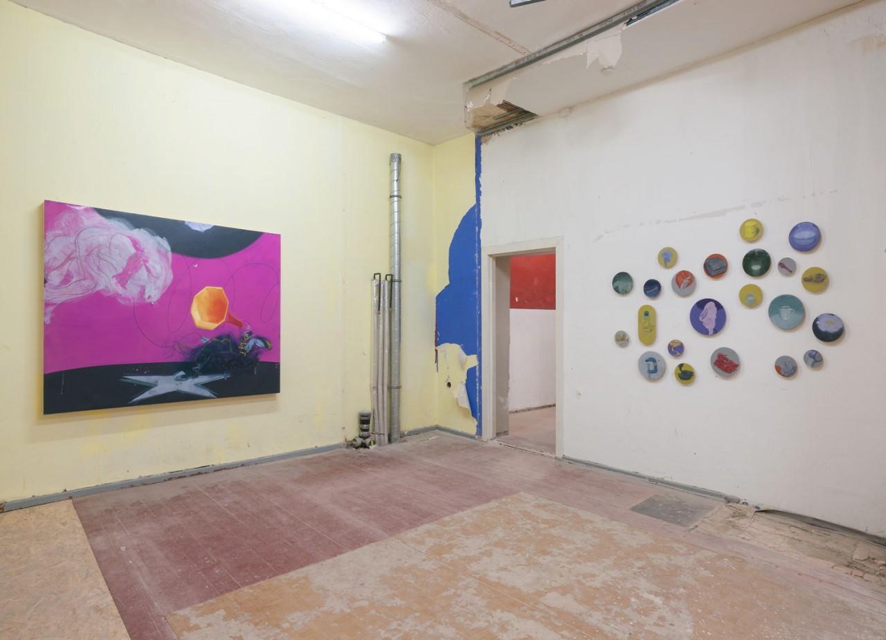 Installationsansicht The Vacancy | Galerie Crone | Fotograf Marcus Schneider