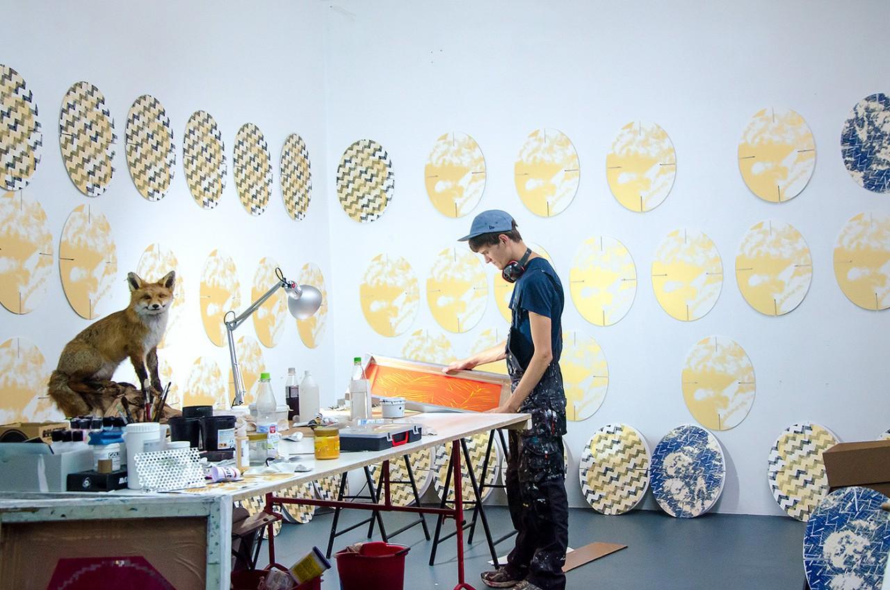 Malte Kebbel - In the Studio