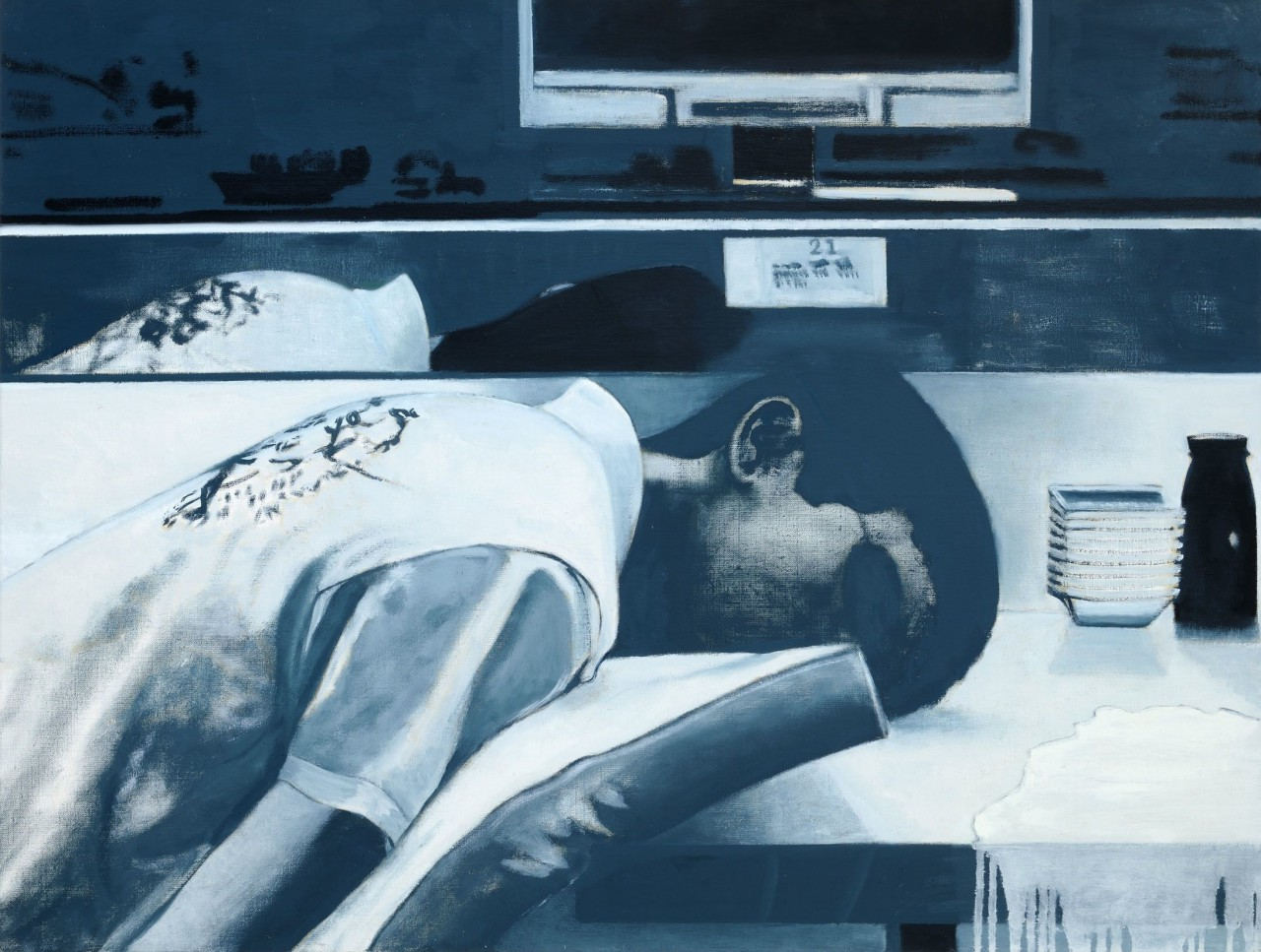 """""""Out of Order"""", 2010, oil on canvas, 90x120 cm"""