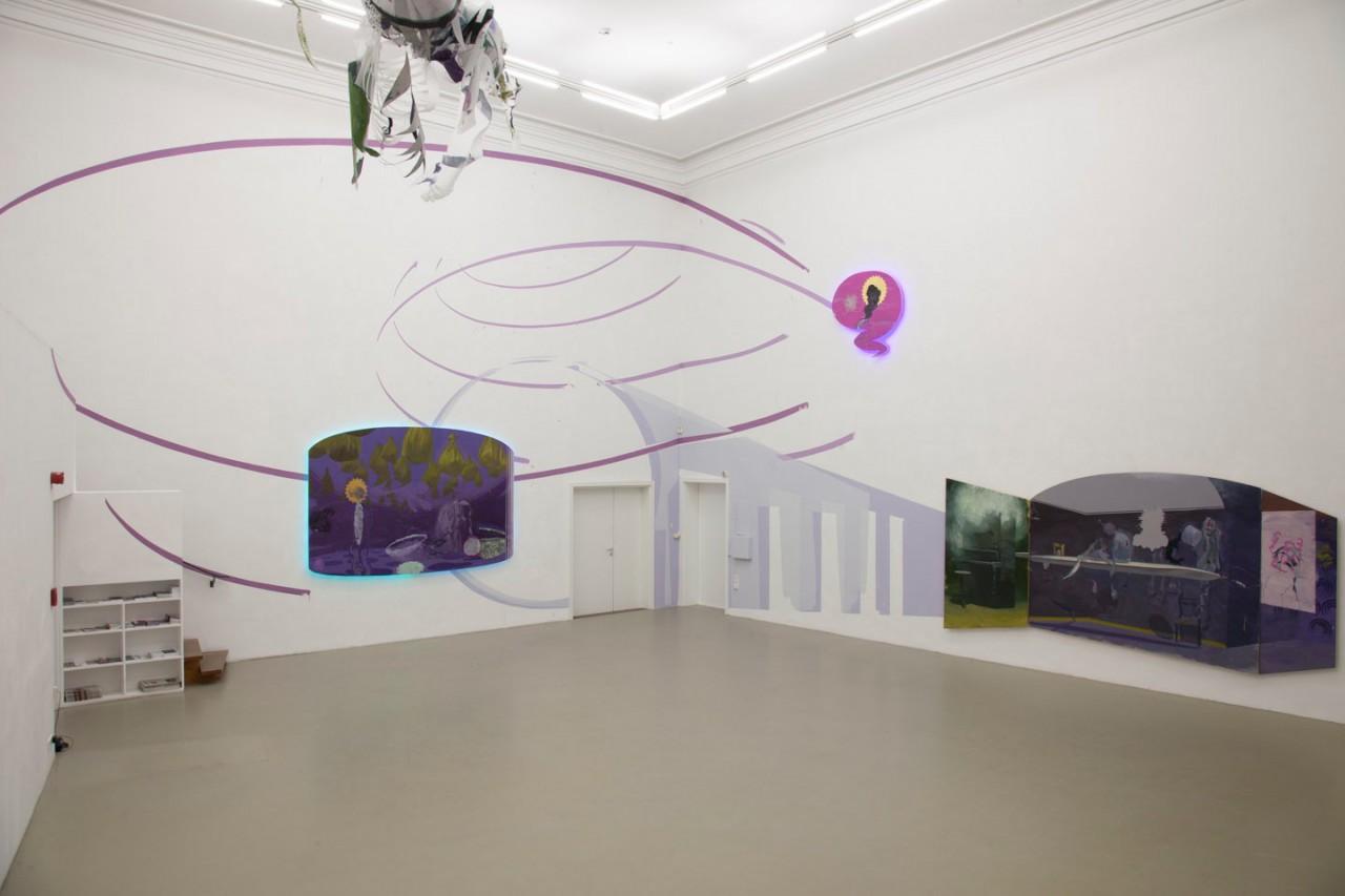 Installation at Forum Kunst Rottweil, Germany
