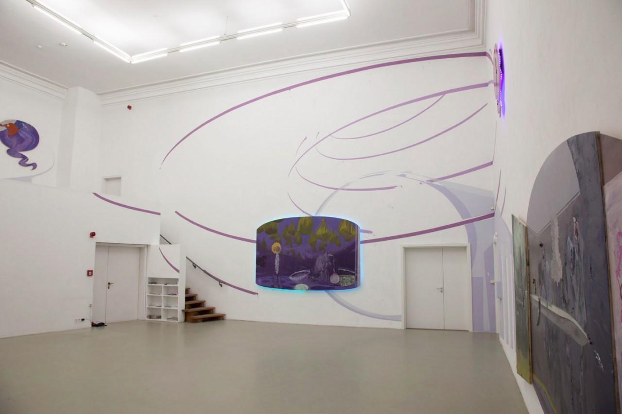 Installation at Forum Kunst, Rottweil, Germany