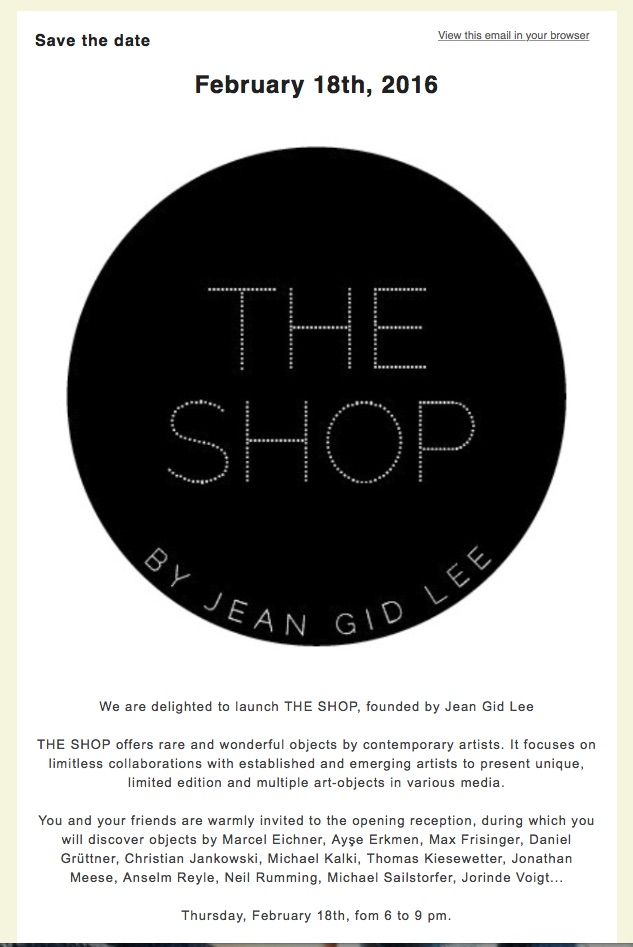 The Shop @ Amel Bourouina