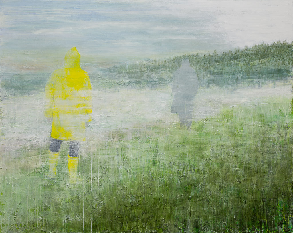 die Übergabe, 2014, 155 x 195 cm, oil on canvas