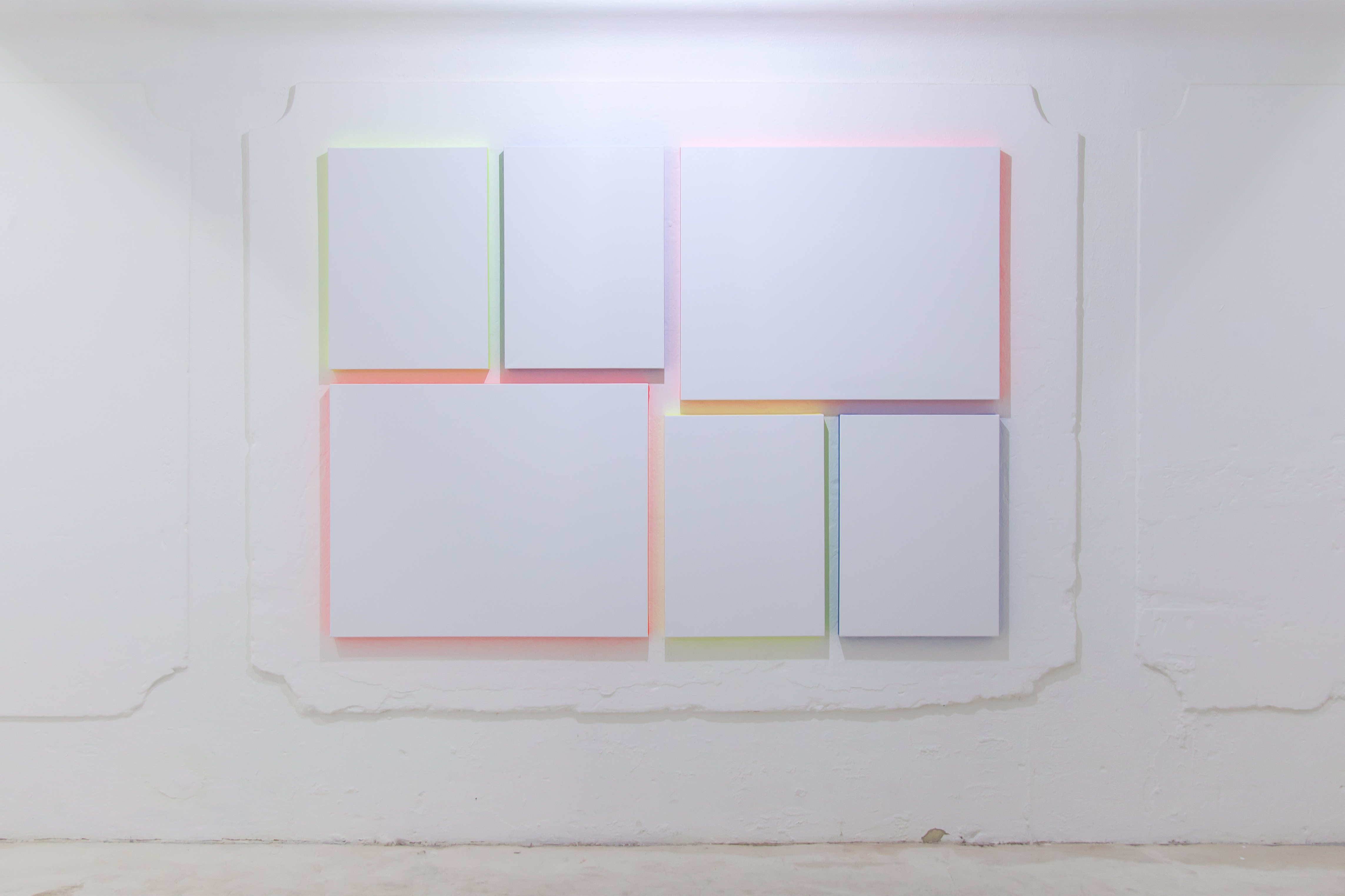Untitled (to A.C.) Alkyd enamel on canvas 155 x 210 cm 2016