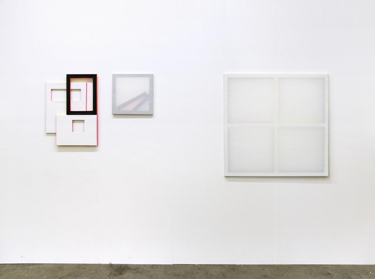 Patric Sandri - Interspaces, Installation view at Kiosk Tabak, Zurich (CH), 2016