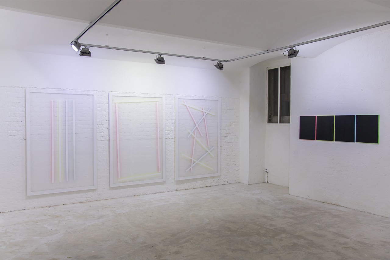 Untitled (to), Installation view at LisaBird Contemporary, Vienna (AT), 2016