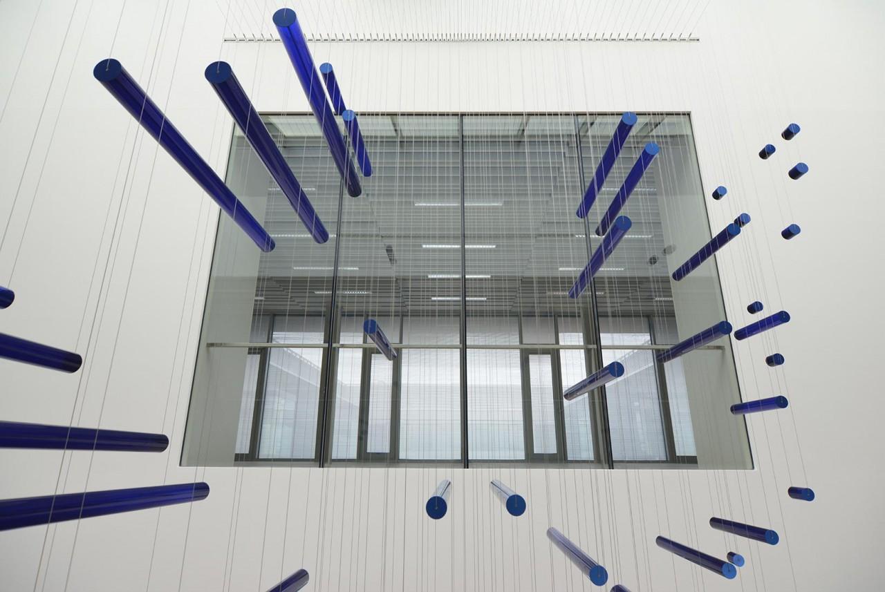 ADLER:ANAMORPH, public art installation, TU München-Garching
